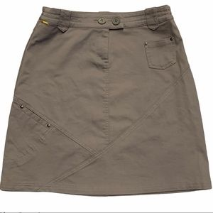 LOLE Stretch UPF 50+ Knee Length Skirt Size 8